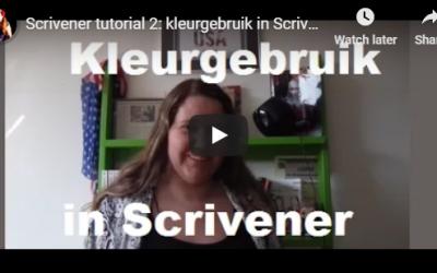 Scrivener tutorial deel 2